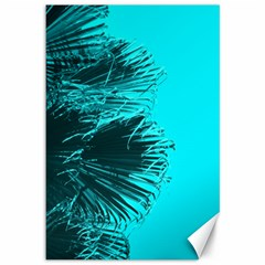 Modern Palm Leaves Canvas 12  X 18   by timelessartoncanvas