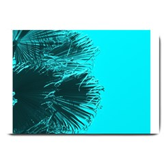 Modern Palm Leaves Large Doormat  by timelessartoncanvas