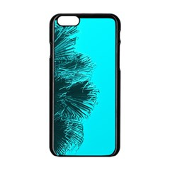 Modern Palm Leaves Apple Iphone 6/6s Black Enamel Case by timelessartoncanvas
