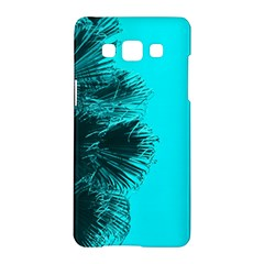 Modern Palm Leaves Samsung Galaxy A5 Hardshell Case  by timelessartoncanvas