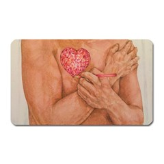 Embrace Love  Magnet (Rectangular) by KentChua