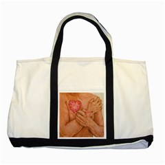 Embrace Love  Two Tone Tote Bag  by KentChua