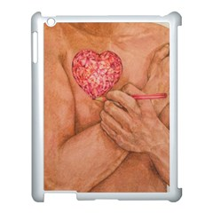 Embrace Love  Apple Ipad 3/4 Case (white) by KentChua