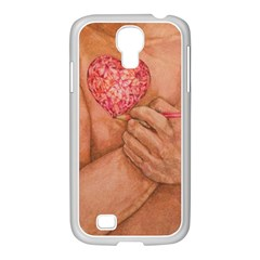 Embrace Love  Samsung Galaxy S4 I9500/ I9505 Case (white) by KentChua