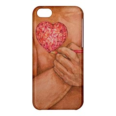 Embrace Love  Apple Iphone 5c Hardshell Case by KentChua