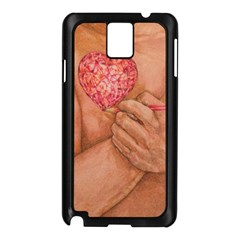 Embrace Love  Samsung Galaxy Note 3 N9005 Case (black) by KentChua