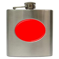 Trendy Red  Hip Flask (6 Oz) by Costasonlineshop