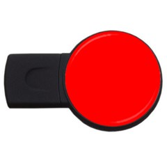 Trendy Red  USB Flash Drive Round (2 GB)  by Costasonlineshop