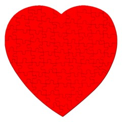 Trendy Red  Jigsaw Puzzle (heart)
