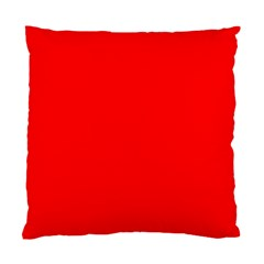 Trendy Red  Standard Cushion Case (one Side)  by Costasonlineshop