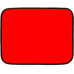 Trendy Red  Fleece Blanket (mini) by Costasonlineshop