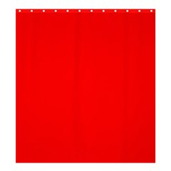 Trendy Red  Shower Curtain 66  X 72  (large)