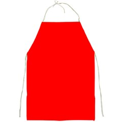 Trendy Red  Full Print Aprons by Costasonlineshop