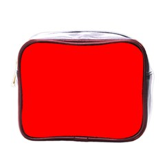 Trendy Red  Mini Toiletries Bags by Costasonlineshop