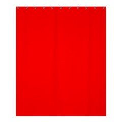 Trendy Red  Shower Curtain 60  X 72  (medium)  by Costasonlineshop