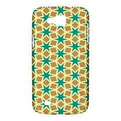 Stars and squares patternSamsung Galaxy Premier I9260 Hardshell Case by LalyLauraFLM