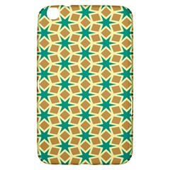 Stars and squares patternSamsung Galaxy Tab 3 (8 ) T3100 Hardshell Case by LalyLauraFLM
