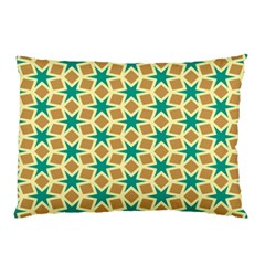 Stars And Squares Pattern			pillow Case by LalyLauraFLM