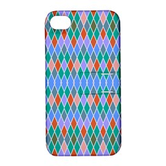 Pastel Rhombus Pattern			apple Iphone 4/4s Hardshell Case With Stand by LalyLauraFLM
