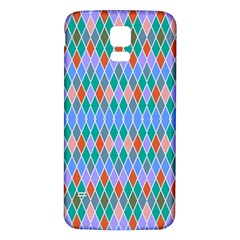 Pastel Rhombus Pattern			samsung Galaxy S5 Back Case (white) by LalyLauraFLM