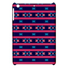 Stripes And Other Shapes Pattern			apple Ipad Mini Hardshell Case by LalyLauraFLM