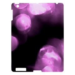 Purple Circles No  2 Apple Ipad 3/4 Hardshell Case