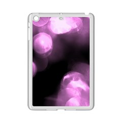 Purple Circles No  2 Ipad Mini 2 Enamel Coated Cases by timelessartoncanvas