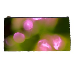 Pink And Green Circles Pencil Cases by timelessartoncanvas