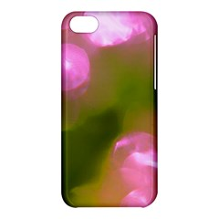 Pink And Green Circles Apple Iphone 5c Hardshell Case by timelessartoncanvas