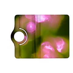Pink And Green Circles Kindle Fire Hd (2013) Flip 360 Case by timelessartoncanvas