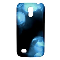 Blue Circles Galaxy S4 Mini by timelessartoncanvas