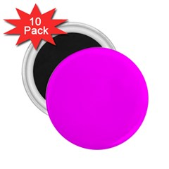 Trendy Purple  2.25  Magnets (10 pack)  by Costasonlineshop