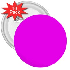 Trendy Purple  3  Buttons (10 pack)  by Costasonlineshop