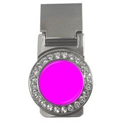 Trendy Purple  Money Clips (CZ)  by Costasonlineshop