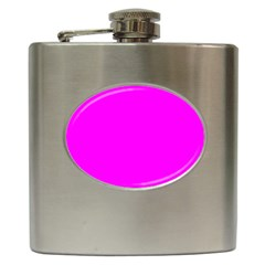 Trendy Purple  Hip Flask (6 oz) by Costasonlineshop