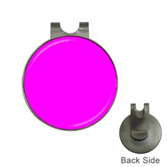 Trendy Purple  Hat Clips With Golf Markers