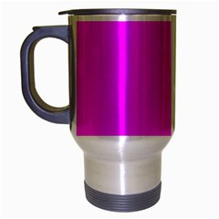 Trendy Purple  Travel Mug (silver Gray) by Costasonlineshop