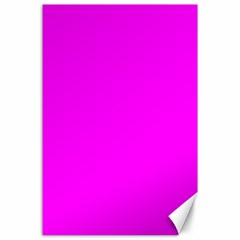 Trendy Purple  Canvas 24  x 36  by Costasonlineshop