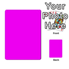 Trendy Purple  Multi Purpose Cards (rectangle)  by Costasonlineshop
