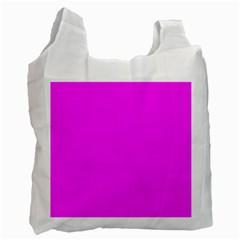 Trendy Purple  Recycle Bag (one Side) by Costasonlineshop