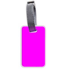 Trendy Purple  Luggage Tags (two Sides) by Costasonlineshop
