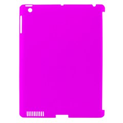 Trendy Purple  Apple iPad 3/4 Hardshell Case (Compatible with Smart Cover) by Costasonlineshop