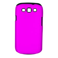 Trendy Purple  Samsung Galaxy S III Classic Hardshell Case (PC+Silicone) by Costasonlineshop