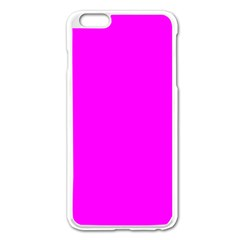 Trendy Purple  Apple Iphone 6 Plus/6s Plus Enamel White Case by Costasonlineshop