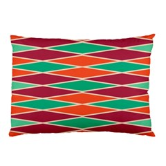 Distorted Rhombus Pattern 			pillow Case by LalyLauraFLM