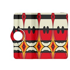 Rhombus Ovals And Stripeskindle Fire Hdx 8 9  Flip 360 Case by LalyLauraFLM