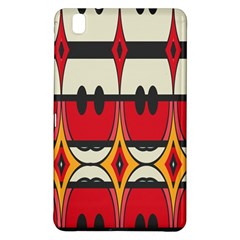 Rhombus Ovals And Stripes			samsung Galaxy Tab Pro 8 4 Hardshell Case by LalyLauraFLM