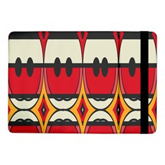 Rhombus Ovals And Stripes			samsung Galaxy Tab Pro 10 1  Flip Case by LalyLauraFLM