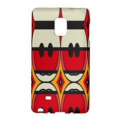 Rhombus ovals and stripesSamsung Galaxy Note Edge Hardshell Case by LalyLauraFLM