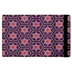 Flowers And Honeycomb Pattern			apple Ipad 3/4 Flip Case by LalyLauraFLM